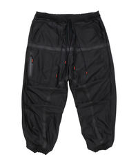 BAGGY RIP-STOP PANTS c/#1 BLACK