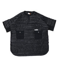 AIR-FIBRE WIDE LONG SHIRTS # c/BLACK