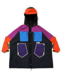 MULTI-PANEL HOVER WIDE JACKET # c/BLACK_base