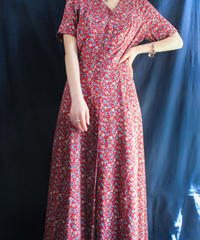 【Seek nur】Small Flower Long Dress
