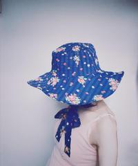 【Sway】<Navy Flowers> Boonie Hat