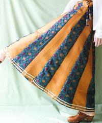 【tiny yearn】Handmade Ethnic Long Skirt