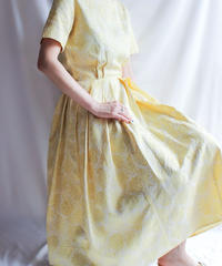 【Seek nur】1950's Embroidery Dress