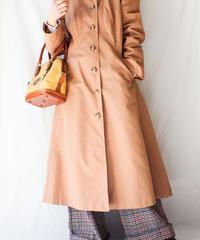 【Seek an nur】Puff sleeve Hoodie Trench Coat