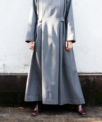 【Seek nur】Euro Pleats Design Smock Dress