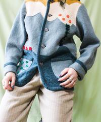 【tiny yearn】Euro Handmade Wool Jacket