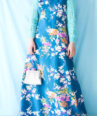 【tiny yearn】1960〜70's Flower Maxi Dress