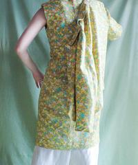 【tiny yearn】1960's Flower Jacket×Dress Seiup