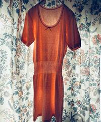 【Sway】<Made in EURO Underwear> Short sleeve Slip:Pink