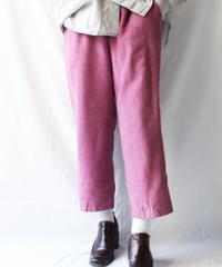 【Seek nur】Faux Suede Easy Pants/Pink