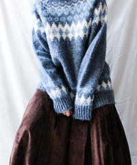 【Seek nur】Norway Nordic Wool Sweater
