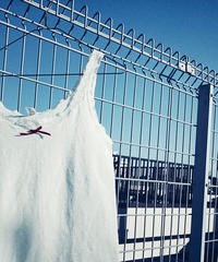 "【Sway】<Made in EURO ""Eurobella"" Underwear> wool mix Camisole:Ivory"
