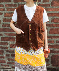 【tiny yearn】Mexico Suede Over Vest