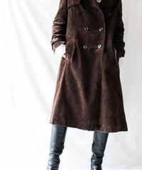 【Seek nur】Euro Corduroy Long Coat