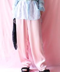 【tiny yearn】Satin Lace Night Pants