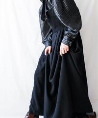 【Seek nur】Austria Black Maxi Tyrol Dress