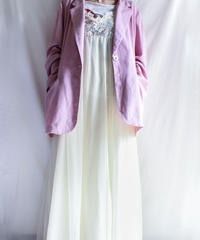 【Seek nur】Linen Tailored Over Jacket