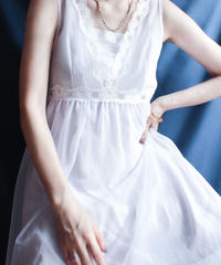 【Seek nur】1970's Lavender Lingerie Dress