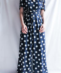 【Seek nur】Coin Dot Sheer Jump suits