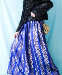 【tiny yearn】Metallic Handmade Maxi Skirt