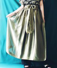 【Seek an nur】Euro Metallic Organdie Waist apron
