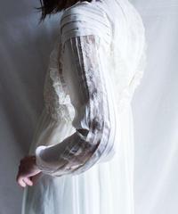 【Seek nur】Euro White Lace Blouse