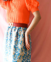 【tiny yearn】Euro Puff sleeve Knit Tops