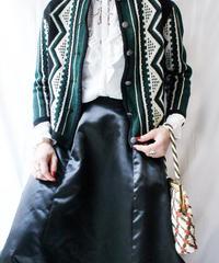 【Seek nur】Euro Jacquard Knit Cardigan