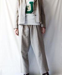 【Seek nur】Herring bone Jacket×Pants Set up