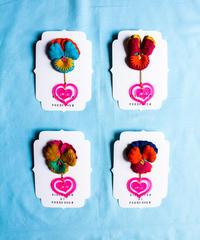 【Sway】<LOVE >Flower×Heart Farring