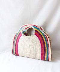 Handicraft raffia bags in Mexico/L