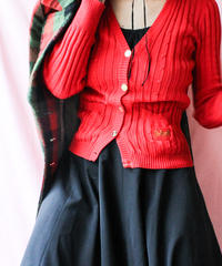【tiny yearn】Italy Stripe Slender Cardigan