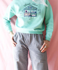 【tiny yearn】Italy BENETTON Embroidery Sweatshirt