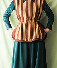 【tiny yearn】Multi Stripe Knit Vest