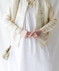 【Seek nur】1950〜60's Beads Embroidery Cardigan