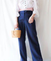【Seek an nur】VTG Euro Navy Slacks