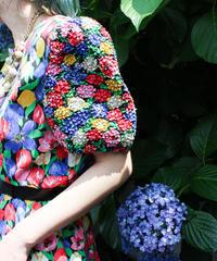 【tiny yearn】Neiman Marcus Flower Design Dress
