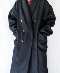 【Seek nur】France Black Wool Long Coat