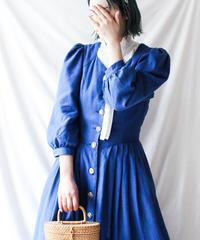 【Seek an nur】Euro Linen Tyrol Long Dress