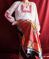 【Seek nur】Hungary embroidery Tops