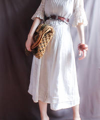 【Seek nur】Euro Linen Tyrol Dress