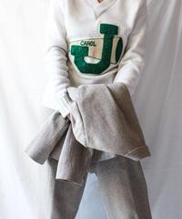【Seek nur】1970's BPC Bristol Products Varsity Sweater