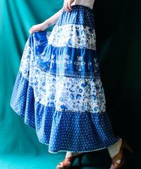 【Seek an nur】LAUREN Ralph Lauren Flower Tiered Skirt