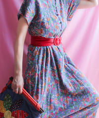 【tiny yearn】Flower Maxi Dress