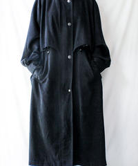【Seek nur】Black Over Trench Coat