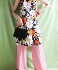 【tiny yearn】1970's Flower A-Line Dress
