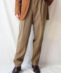 【Seek nur】Check Tapered Pants