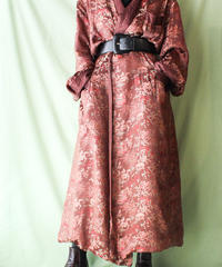 【tiny yearn】Brown Over China Gown