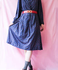 【tiny yearn】Dot Art Eton collar Dress