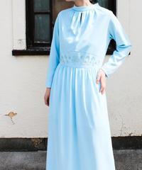 【tiny yearn】1960's Embroidery Maxi Dress